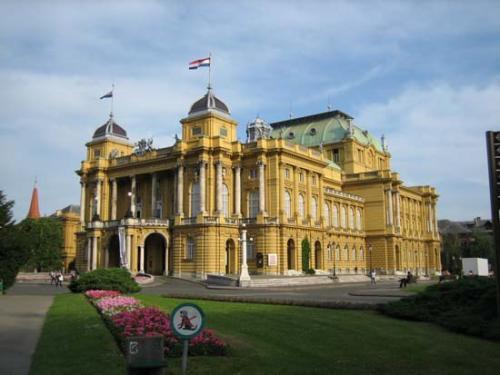 Balkan building showing balkan architecture