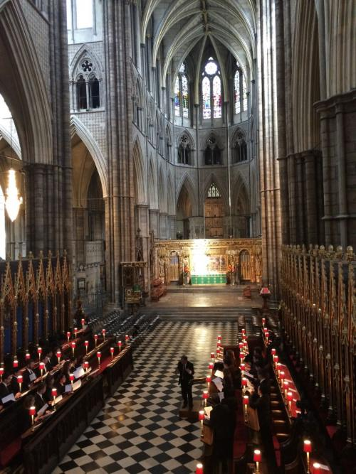 Evensong at Westminster