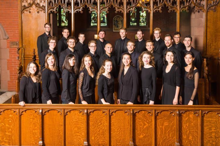 Yale Schola Cantorum 2015-2016