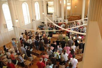 Worship in Marquand Chapel