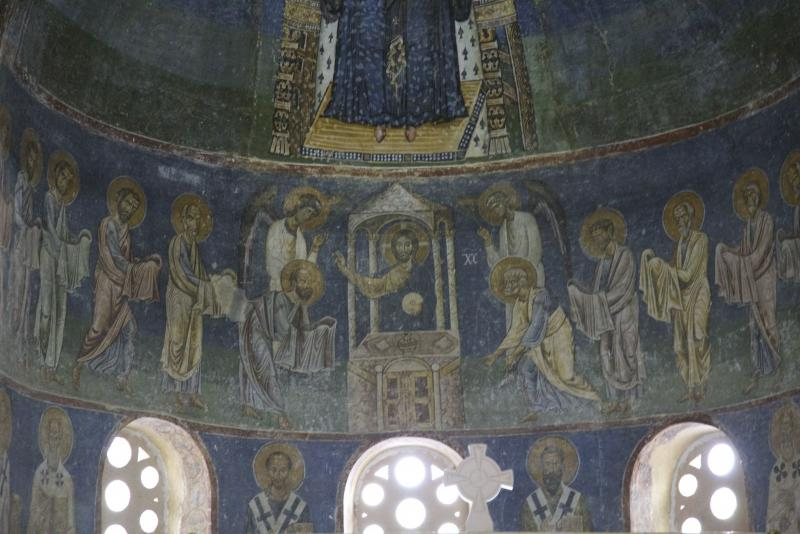 St. Sophia Church, Ohrid, Macedonia.  Photo by Evan Freeman.