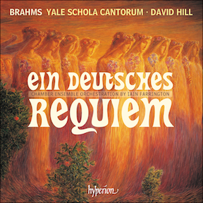 Brahms Yale Schola Cantorum Poster