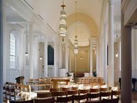 Marquand Chapel interior. Photo: Cervin Thompson.
