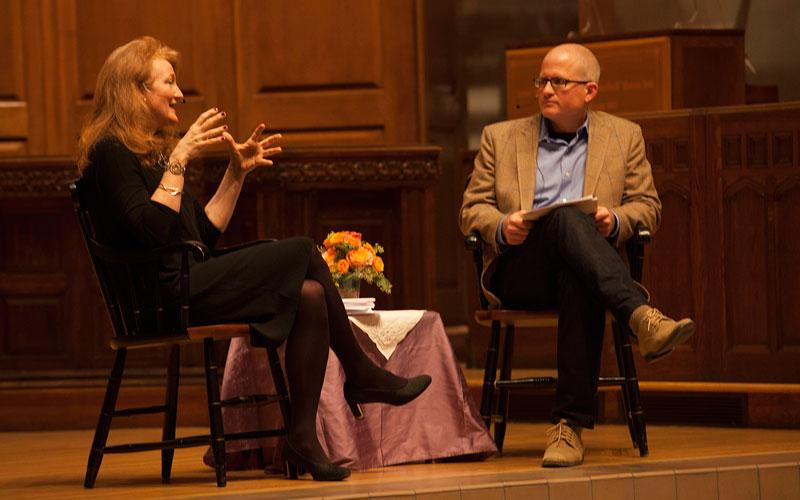 Krista Tippett with Christian Wiman