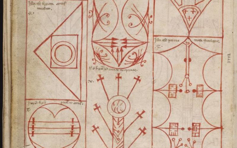 <i>Ars notoria, sive Flores aurei,</i> Mellon MS 1 (Beinecke)