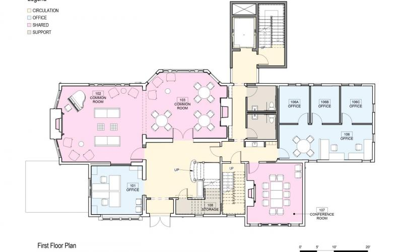 Floor Plan 406 Prospect Ground Floor