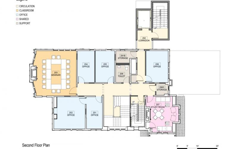 Floor Plan 406 Prospect Second Floor