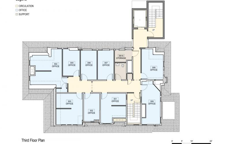 Floor Plan 406 Prospect Third Floor