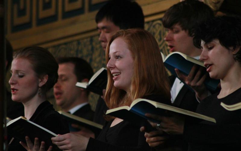 singing in Camerata