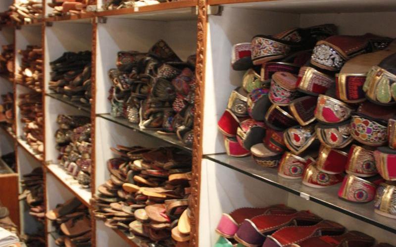 shoe shopping in India