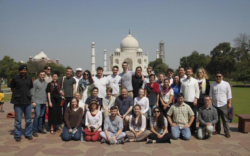 Schola at the Taj Mahal