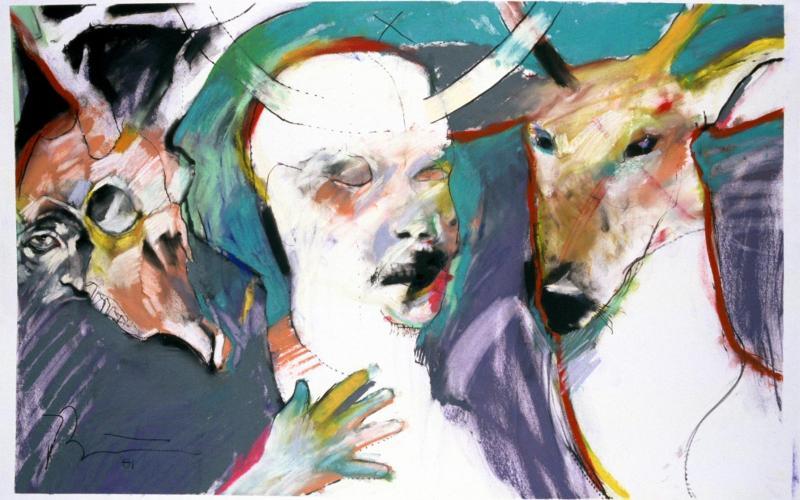 Rick Bartow: Traumbild