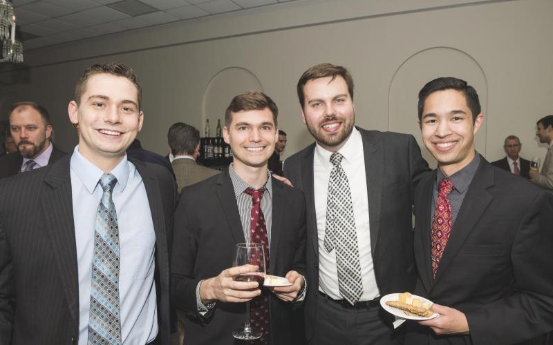 David von Behren, Gabriel Benton, Nicholas Quardokus, Josiah Hamill