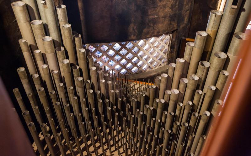 Woolsey organ pedal mixture