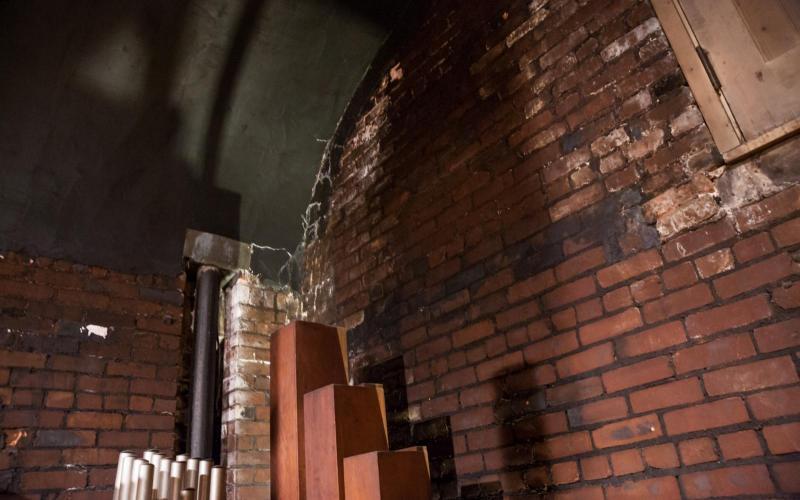 Woolsey organ wall damage