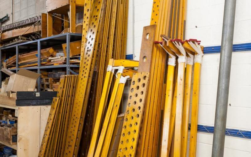 Woolsey organ woodwork cleaned