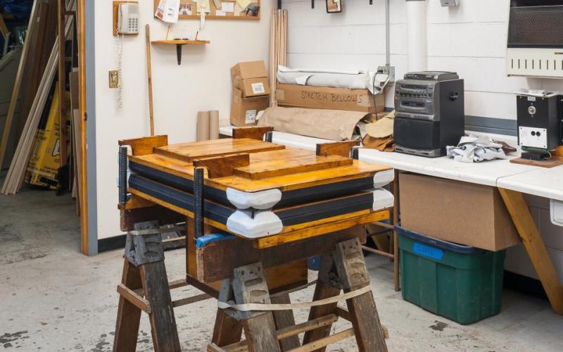 Woolsey organ regulator in shop