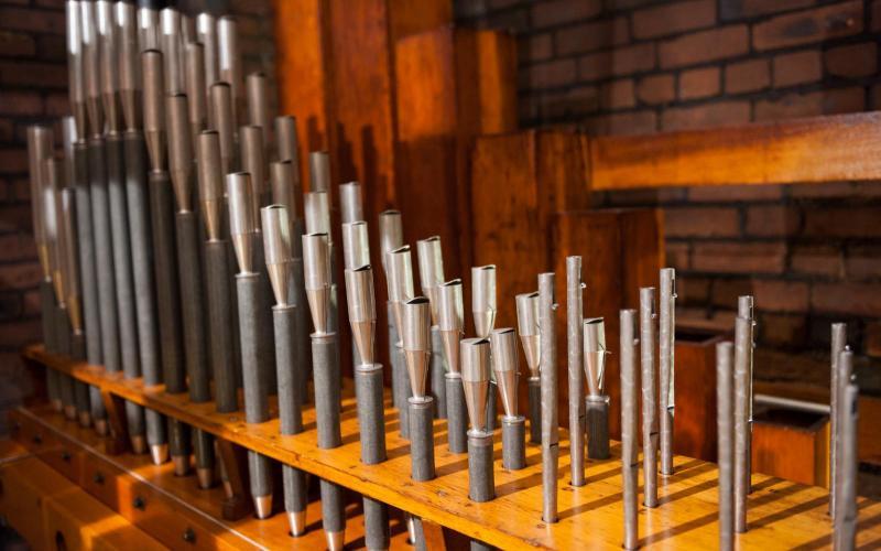 Woolsey organ Vox Humana restored