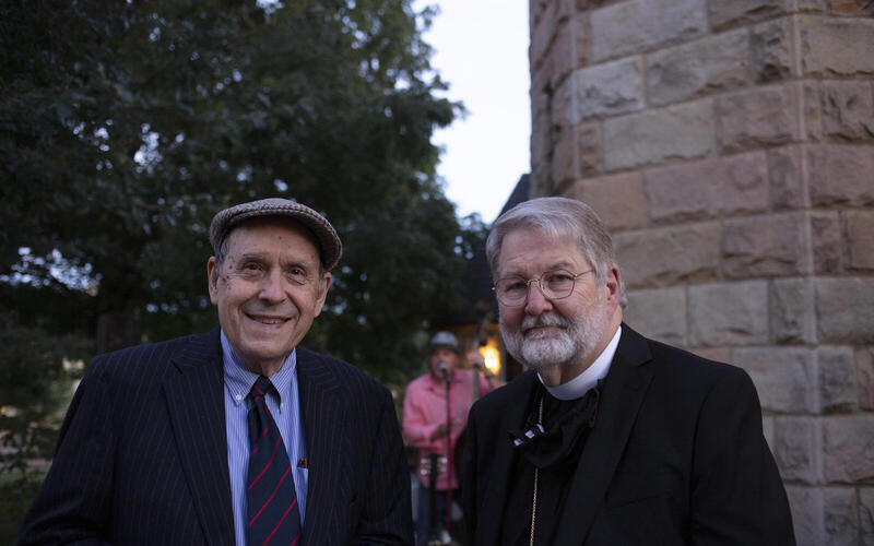 Thomas Murray and J. Neil Alexander. Photo courtesy of Thomas Murray and the School of Theology, University of the South.