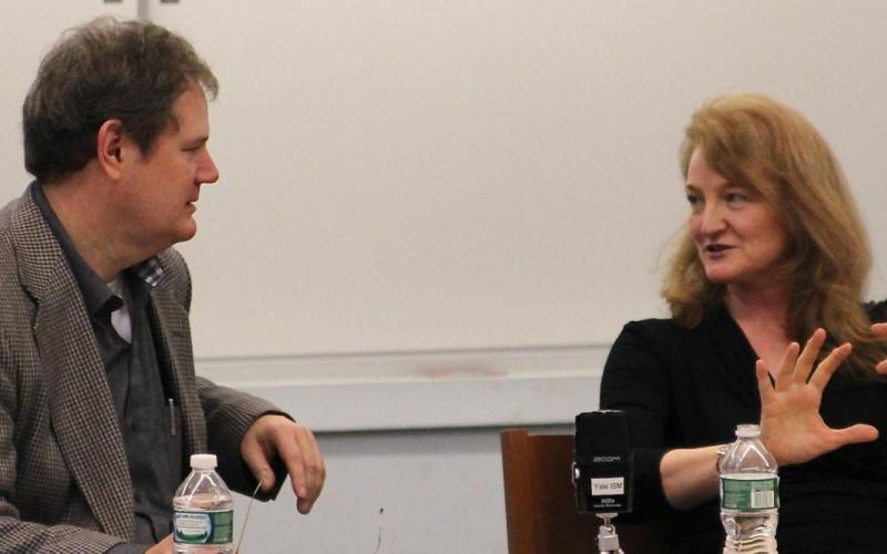 Timothy Cahill and Krista Tippett