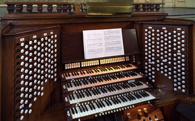 Newberry Memorial Organ 2 by Robert Lisak