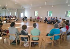 Congregations Project attendees in the round for discussion