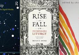 @Worship by Teresa Berger, the Rise and Fall of the Incomparable Liturgy by Bryan Spinks, and Joy: 100 Poems edited by Christian Wiman