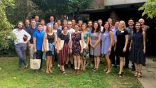 The incoming ISM class at orientation