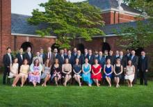 The ISM Class of 2015