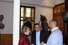 Fassler, Labib, Soliman, on location at St. Mark's Coptic Orthodox Church, Jersey City