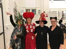 Camerata members in Halloween costumes