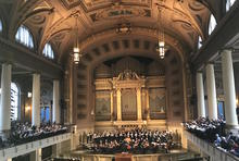 Performance in Woolsey Hall